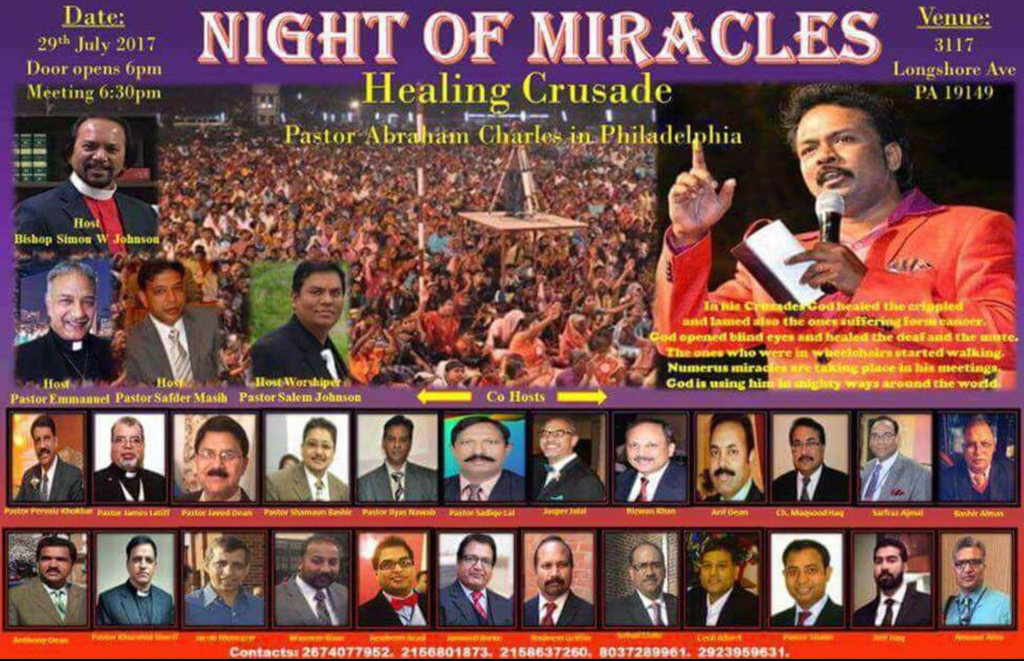 Night Of MIracles 2017