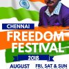Freedom Festival 2018 - Chennai, India